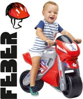 Feber Racemotor met Helm - Loopmotor