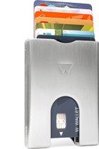 Walter Wallet aluminium - Creditcardhouder - Zilverkleurig
