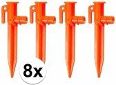 2x set Tentharingen met LED 4 stuks