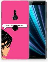 Sony Xperia XZ3 Uniek TPU Hoesje Woman DTMP