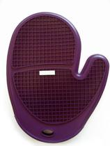 Silicone Zone Soft Cell Ovenwant - Antislip - Paars