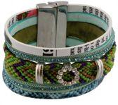 Armband – Groen – Trendy – Magneetsluiting – 20cm