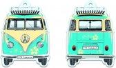 VW T1 Bus luchtverfrisser - Pina Colada, turkoois