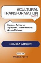 #CULTURAL TRANSFORMATION tweet Book01