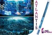 H2show atlantis achterwand - met gel