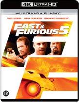 Fast & Furious 5 (4K Ultra HD Blu-ray)