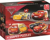 Cars3 4in1 vormenpuzzel