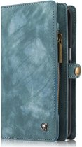 Caseme - Samsung Galaxy S7 Edge Hoesje - Uitneembare Portemonnee  Vintage Groen
