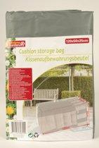 Lifetime Garden - Kussenopberghoes 120x50x25cm - Grijs