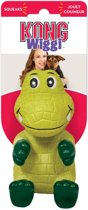 Kong Wiggi Alligator - Hondenspeelgoed -  Groen - L