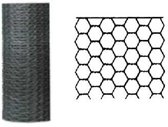 Betafence zeskantgaas verzinkt 100 cm x 25 m maas 25 mm