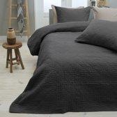 Sleeptime Bedsprei Memphis - 260x250 - Antraciet