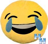 """Emoji - Emoticon - Smiley - Kussen - """"Lol"""""""