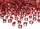 Tafel diamant donker rood 12mm
