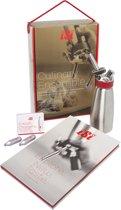 iSi Gourmet Whip Geschenkset Garneergerei - Incl. Frans kookboek