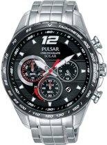 Pulsar PZ5019X1 horloge heren - zilver - edelstaal