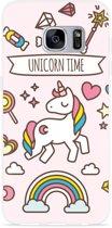 Galaxy S7 Hoesje Unicorn Time