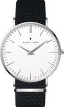 Wallace Hume Klassiek Wit - Horloge - NATO - Zwart