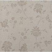Dutch Wallcoverings vliesbehang bloem - beige