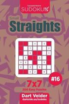 Sudoku Small Straights - 200 Easy Puzzles 7x7 (Volume 16)