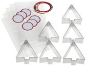 Wilton - Gift cookie cutter set - 60delig