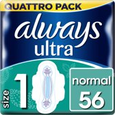 Always - Pads Ultra Normal Plus - Quatro Pack