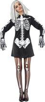 """""""Halloween skeletten kostuum voor dames - Verkleedkleding - One size"""""""