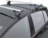 Twinny load Dakdragerset Twinny Aluminium A31 Audi A4 2008- /Renault Scenic/Megane 5 deurs 2009- (voor auto's zonder dakreling)