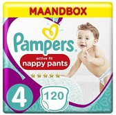 Pampers Active Fit Pants Maandbox Maat 4 - 120 Luiersbroekjes