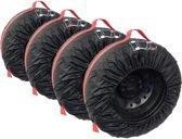 Bandenhoezen 4 Stuks - Voor de Opslag van Winterbanden en Zomerbanden - Bandenhoes - 13 tot 16 Inch