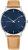 Tommy Hilfiger TH1791652 Horloge  - Leer - Bruin - Ø  40 mm