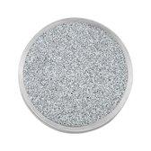 Quiges RVS Verwisselbare Mini Munt met Glitters Transparant