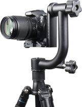 YELANGU horizontaal 360 Degree Gimbal Tripod Head voor SLR Cameras en Home DV Camera(zwart)
