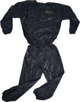 Tunturi Zweetpak - Sauna Suit - Sauna pak - L - Zwart