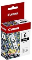 Canon BCI-6Bk Original Zwart