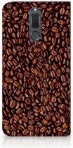 Uniek Standcase Hoesje Koffiebonen Geschikt voor Huawei Mate 10 Lite