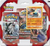 Pokémon Sun & Moon Crimson Invasion Boosterblister Lucario