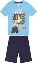 LEGO-CITY Pyjama met korte mouw - lichtblauw - Maat 128