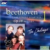 Beethoven: String Quartets Vol 1 - Op. 18 nos 1-3 / The Lindsays