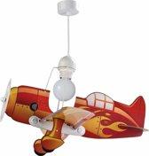 Dalber Vliegtuig - Hanglamp - Rood