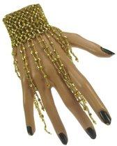 Armband met steentjes Goud