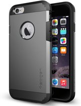 Spigen Tough Armor voor Apple iPhone 6/6s Back Cover - Grijs