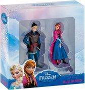 Speelfiguur Bullyland Frozen Kristoff en Anna