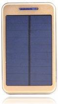CheapOutdoor Powerbank Solar 10000 mAh Silver/Gold
