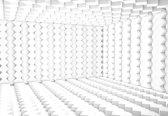 Fotobehang Abstract Modern 3D | XXL - 312cm x 219cm | 130g/m2 Vlies
