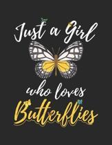 Just A Girl Who Loves Butterflies