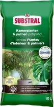 Potgrond kamerplanten en palmen 10 liter - set van 2 stuks