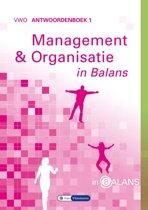 Management en organisatie in balans vwo antwoordenboek 1