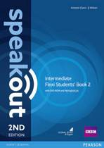 Speakout Intermediate Flexi Students' Book 2 with MyEnglishLab Pack