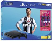 SONY PLAYSTATION PS4 500GB BLACK FIFA19